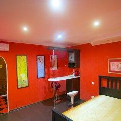 Гостиница Теремок Заволжский Улучшенный номер разные типы кроватей фото 2