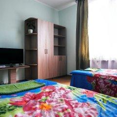 Хостел Мир Без Границ Кровать в общем номере с двухъярусной кроватью
