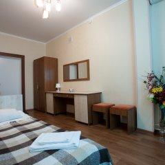 Гостиница Солнечная Стандартный номер с разными типами кроватей фото 9