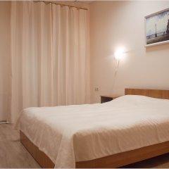 Хостел Бор на Волге Улучшенный номер двуспальная кровать фото 3