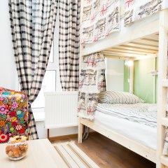 Гостиница Хостелы Рус Домодедово Кровать в общем номере с двухъярусной кроватью фото 4