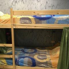 Хостел Аквариум Кровать в общем номере с двухъярусными кроватями фото 21