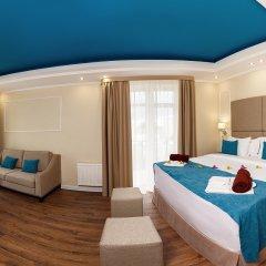 Гостиница Голубая Лагуна Номер Делюкс с различными типами кроватей фото 8