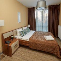 Апарт-Отель Skypark Апартаменты с разными типами кроватей фото 20