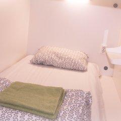 Capsule hostel in Moscow Кровать в общем номере с двухъярусной кроватью фото 6