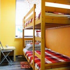 Хостел Пушкин Номер с общей ванной комнатой с различными типами кроватей (общая ванная комната) фото 6