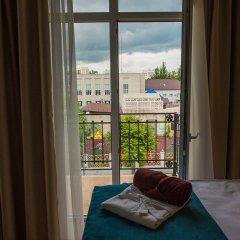 Гостиница Голубая Лагуна Номер Делюкс разные типы кроватей фото 16