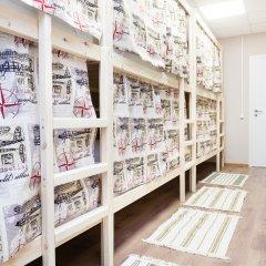 Гостиница Хостелы Рус Домодедово Кровать в общем номере с двухъярусной кроватью фото 14