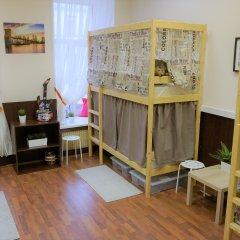 Гостиница HostelAstra Na Basmannom 2* Кровати в общем номере с двухъярусными кроватями фото 5
