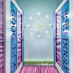 Хостел Good Luck Кровать в общем номере с двухъярусной кроватью фото 4