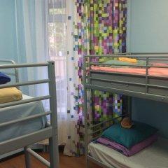 Хостел 7 Sky на Красносельской Кровать в женском общем номере с двухъярусной кроватью фото 5