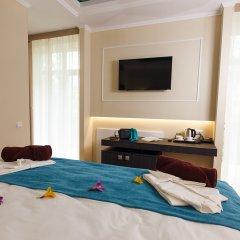 Гостиница Голубая Лагуна Люкс с различными типами кроватей фото 11