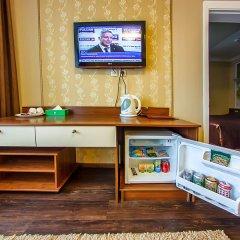 Гостиница Аврора 3* Стандартный номер с двумя спальнями с разными типами кроватей фото 7