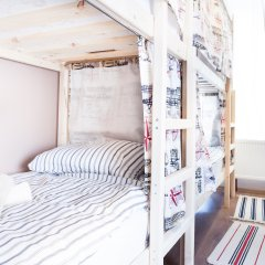 Гостиница Хостелы Рус Домодедово Кровать в общем номере с двухъярусной кроватью фото 6