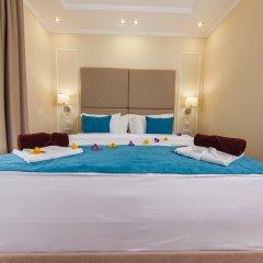 Гостиница Голубая Лагуна Номер Делюкс разные типы кроватей фото 2