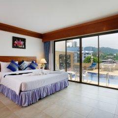 Отель Jiraporn Hill Resort 3* Номер Делюкс