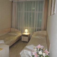 Гостиница Солнечная Стандартный номер с разными типами кроватей фото 15