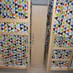Хостел Bla Bla Hostel Rostov Кровать в общем номере с двухъярусной кроватью фото 2