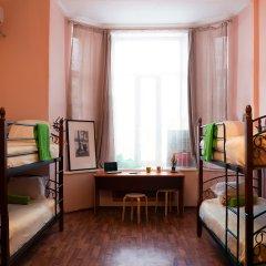 Хостел Сердце Столицы Кровать в общем номере двухъярусные кровати фото 4