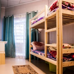 Хостел Sleep&Go Кровать в общем номере с двухъярусной кроватью фото 7