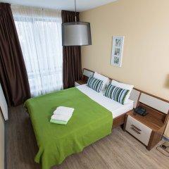 Апарт-Отель Skypark Апартаменты с разными типами кроватей фото 14