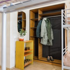 Метро-Тур хостел Кровать в общем номере с двухъярусной кроватью фото 9