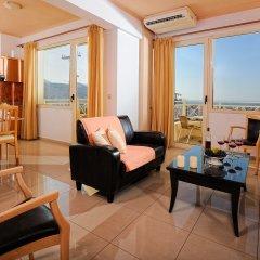 Notos Heights Hotel & Suites 4* Люкс с различными типами кроватей