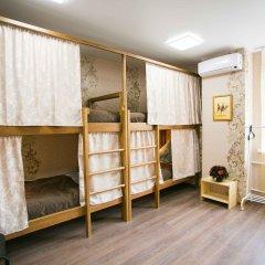 Хостел Рус - Иркутск Кровать в женском общем номере с двухъярусной кроватью
