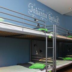 Хостел Amalienau Hostel&Apartments Кровать в общем номере с двухъярусными кроватями фото 6