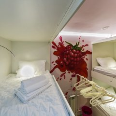 Гостиница HQ Hostelberry Кровать в женском общем номере двухъярусные кровати фото 3