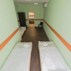 Мини-Отель Компас Номер с общей ванной комнатой с различными типами кроватей (общая ванная комната) фото 28