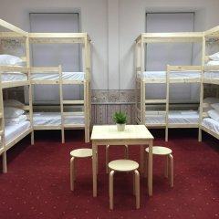 Centeral Hotel & Hostel Кровать в общем номере фото 18