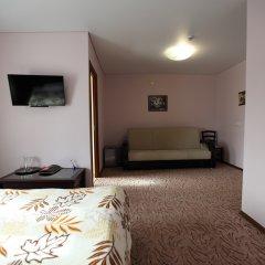 Гостиница Два крыла Стандартный семейный номер с различными типами кроватей фото 4