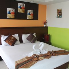 Green Harbor Patong Hotel 2* Стандартный номер разные типы кроватей фото 36