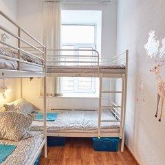 Хостел Абрикос Кровать в женском общем номере с двухъярусными кроватями фото 12