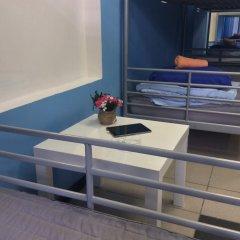 Хостел 7 Sky на Красносельской Кровать в женском общем номере с двухъярусной кроватью фото 10