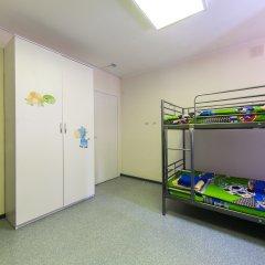 Хостел Чемпион Кровать в общем номере с двухъярусной кроватью фото 4