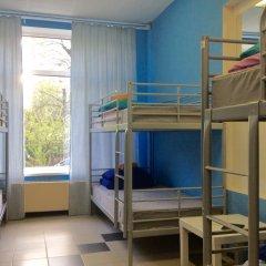 Хостел 7 Sky на Красносельской Кровать в женском общем номере с двухъярусной кроватью фото 8