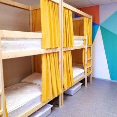 Хостел Рус-Новосибирск Кровать в общем номере двухъярусные кровати фото 15
