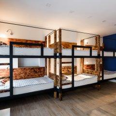 Хостел Five Stars Кровать в мужском общем номере с двухъярусной кроватью фото 4