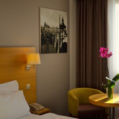 Отель Botanique Prague 4* Стандартный номер с различными типами кроватей фото 2