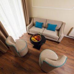 Гостиница Голубая Лагуна Номер Делюкс с различными типами кроватей фото 11