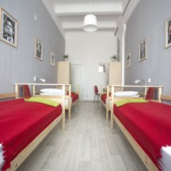 Хостел Bla Bla Hostel Rostov Кровать в мужском общем номере с двухъярусной кроватью фото 7