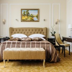 Гостиница Двухместный номер Делюкс с 1 кроватью комната для гостей фото 3
