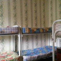 Хостел Дом Охотника Кровать в общем номере с двухъярусной кроватью