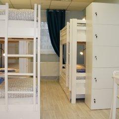 Гостевой Дом Полянка Кровать в общем номере с двухъярусными кроватями