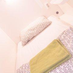 Capsule hostel in Moscow Кровать в общем номере с двухъярусной кроватью