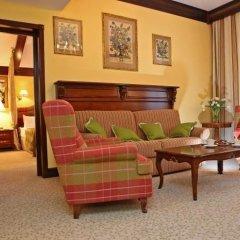 Гранд Отель Поляна 5* Семейный люкс с двуспальной кроватью фото 3