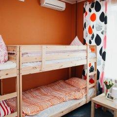 Хостел Достоевский Кровать в женском общем номере с двухъярусными кроватями фото 2