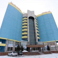 Отель Saryarka Павлодар вид на фасад